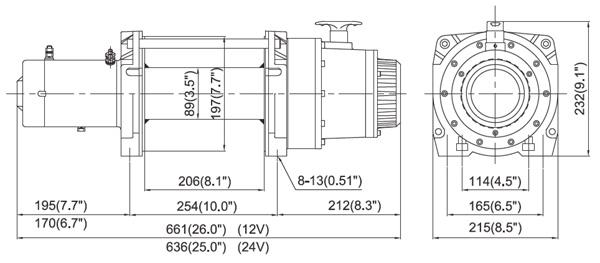 DV-15 Dimension
