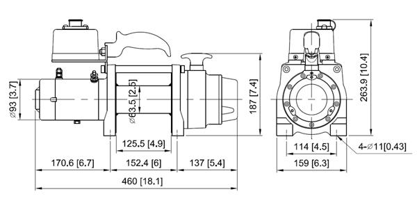 DV-6s Dimension